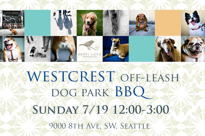 Westcrest Off-leash Dog Park Fundraiser BBQ