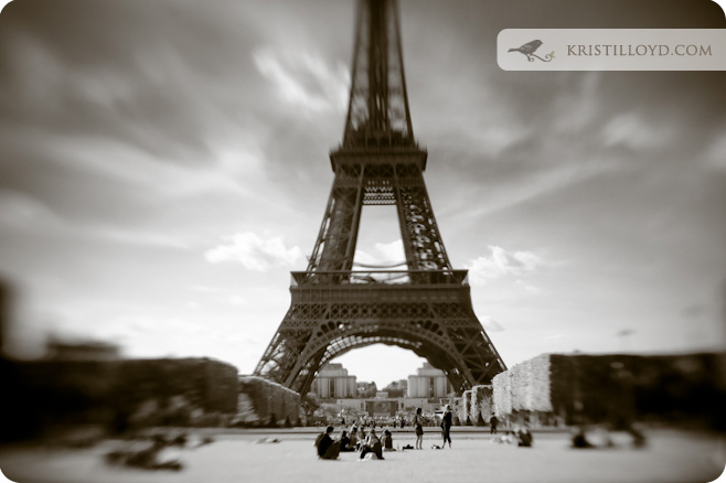 Kristi's visions of Paris