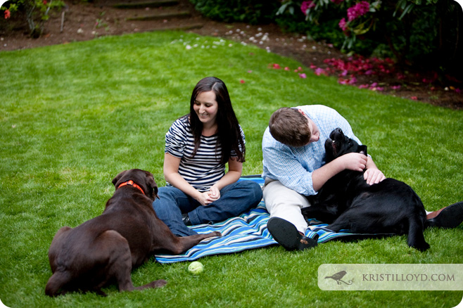 Carolyn & Billy's Seattle Engagement Session