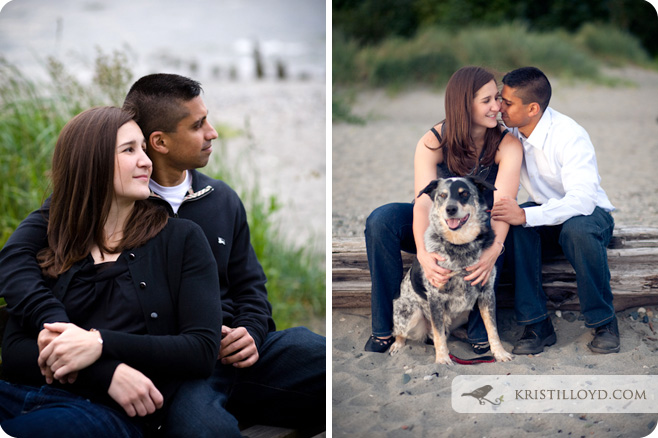 Sonia & Irfan's Golden Gardens Engagement Session