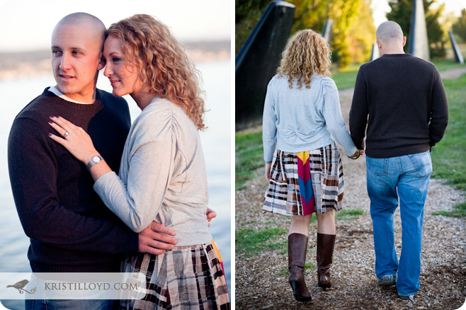 Heather & Chris's Magnuson Park Engagement Session